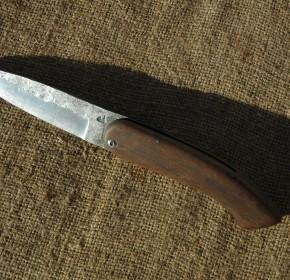 Couteau de poche brut de forge