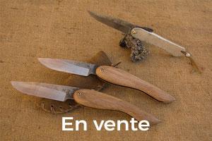 Couteaux disponibles