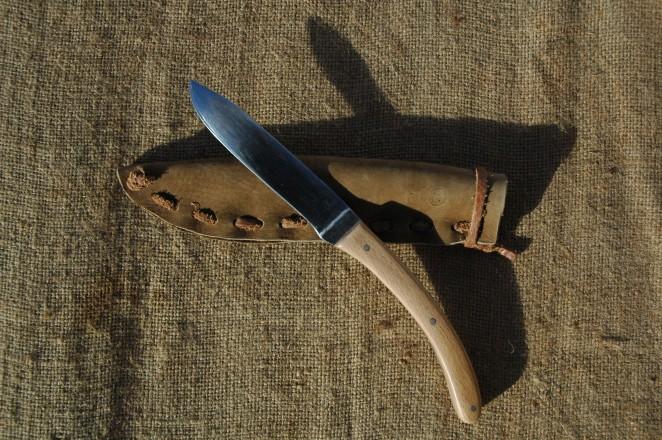Couteau droit élégant #1 + étui